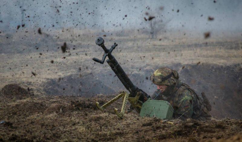 обострение на Донбассе