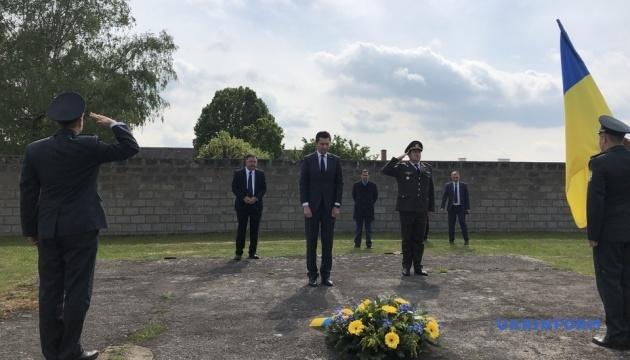 """Несмотря на пандемию Украина почтила память жертв концлагеря """"Маутхаузена"""""""