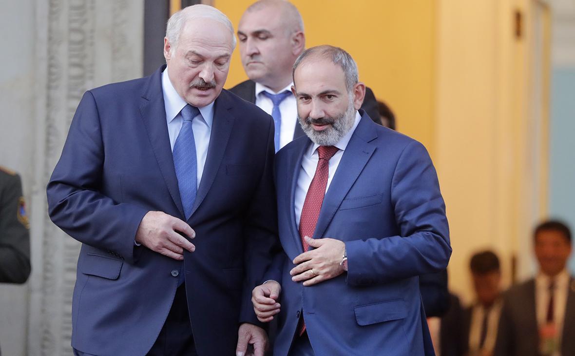 Лукашенко и Пашинян