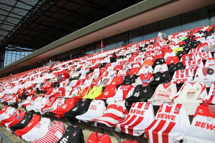 Клуб Бундеслиги креативно подошел к условиям пустых трибун на матчах чемпионата (фото)