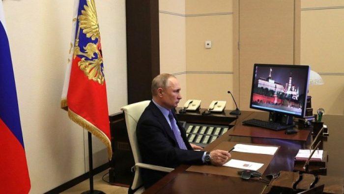 Владимир Путин в Бункере.