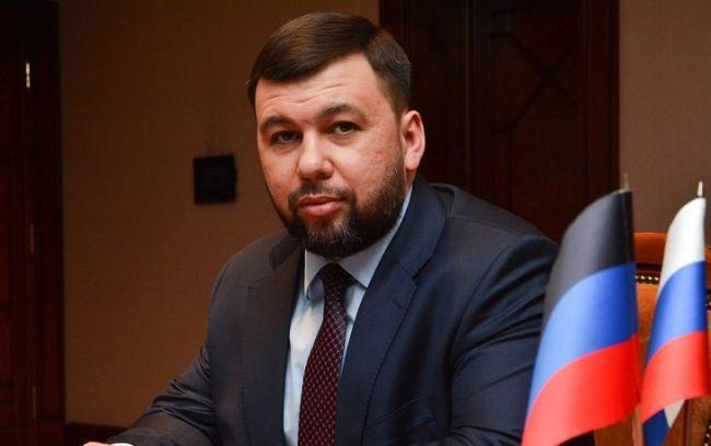 """главарь """"ДНР"""" Денис Пушилин."""