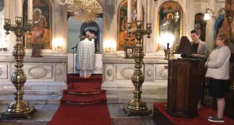 В Стамбуле по случаю Вознесения отслужили литургию на украинском