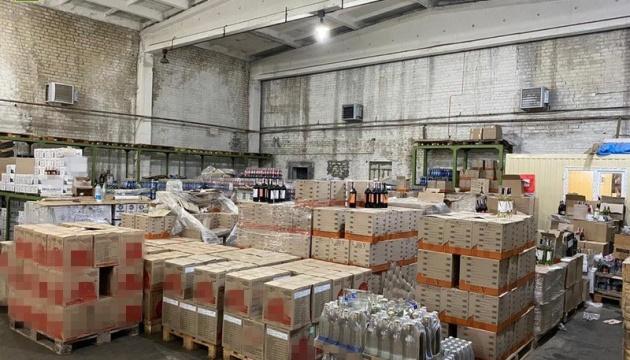 СБУ изъяла  в трех областях 60 тонн алкоголя с поддельным акцизом