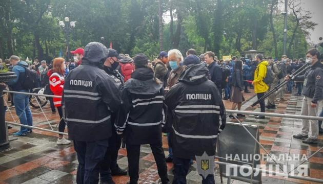 Полиция усилила меры безопасности в Киеве и еще 11 регионах