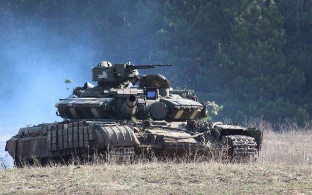 Новые танки РФ на Донбассе.