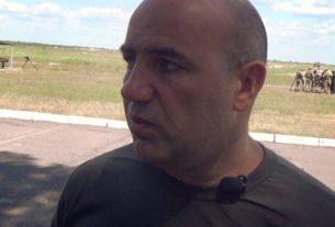 Волонтер Роман Доник.