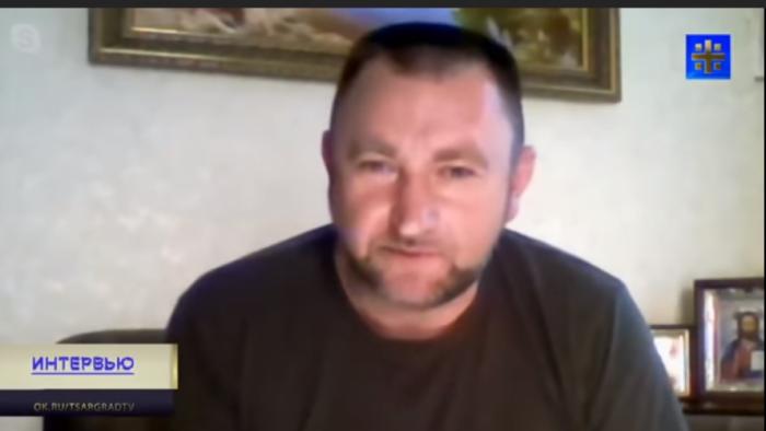 Бывший зам Гиркина Сергей Здрилюк.