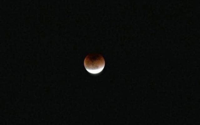 Лунное затмение 5 июня 2020 года.