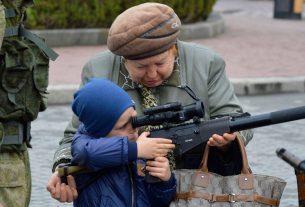 Ребенок с оружием