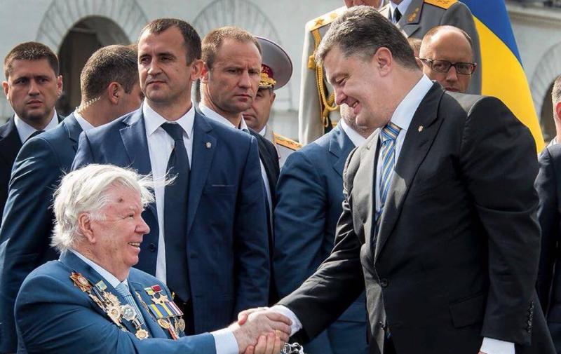 Алексей Порошенко и Петр Порошенко