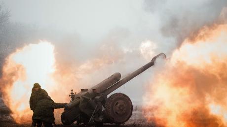 Ликвидация боевиков под Дебальцево.