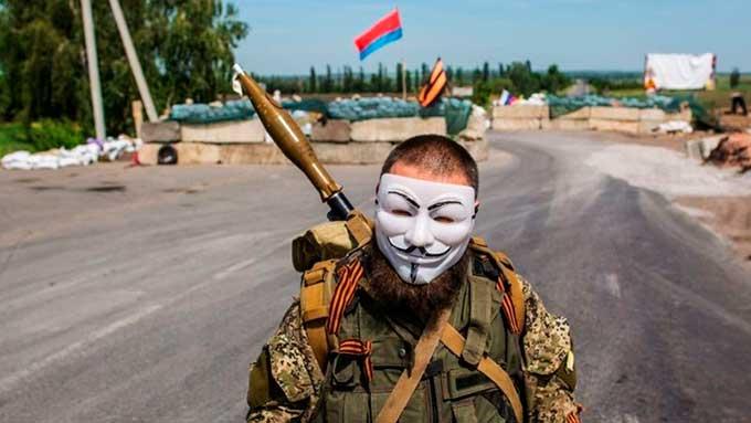 На Донбассе разыгрывается спектакль.