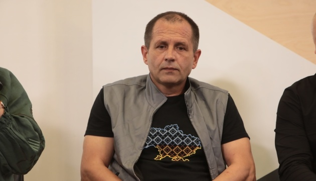"""Бывший политузник Балух заявляет о том, что его """"помяли"""" полицейские - журналистка"""