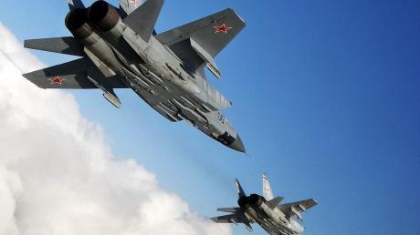 Истребители РФ подняты в воздух.