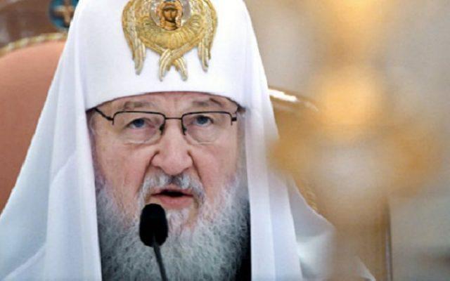 Патриарх Кирилл опростоволосился.