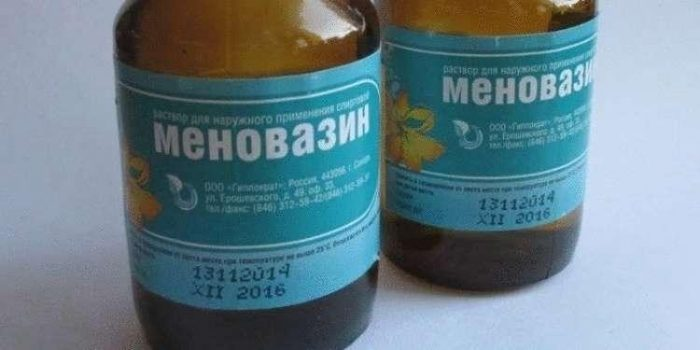 Меновазин - универсальное средство.