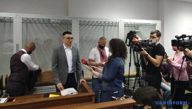 Шевченковский суд продолжает избирать меру пресечения Стерненку