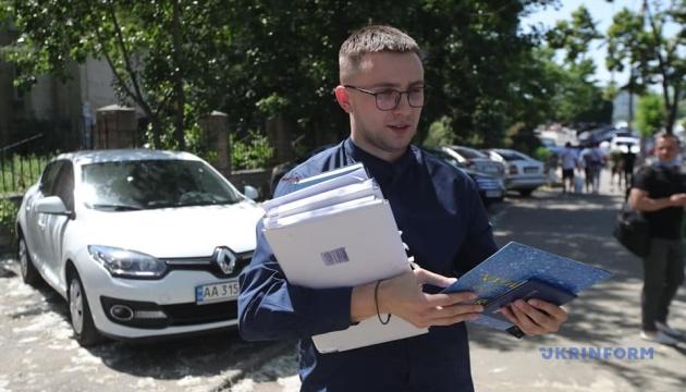 Суд избирает меру пресечения Стерненко