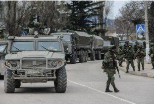 Подготовка РФ к броску на Украину.