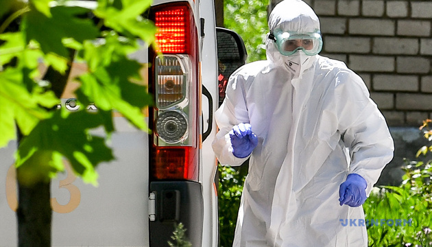 В Украине подтвердили 24 823 случая коронавируса, за сутки - 483