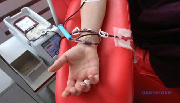 В Украине стартовал флешмоб к Международному дню донорства крови
