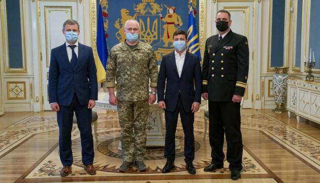 Зеленский назначил командующего ВМС