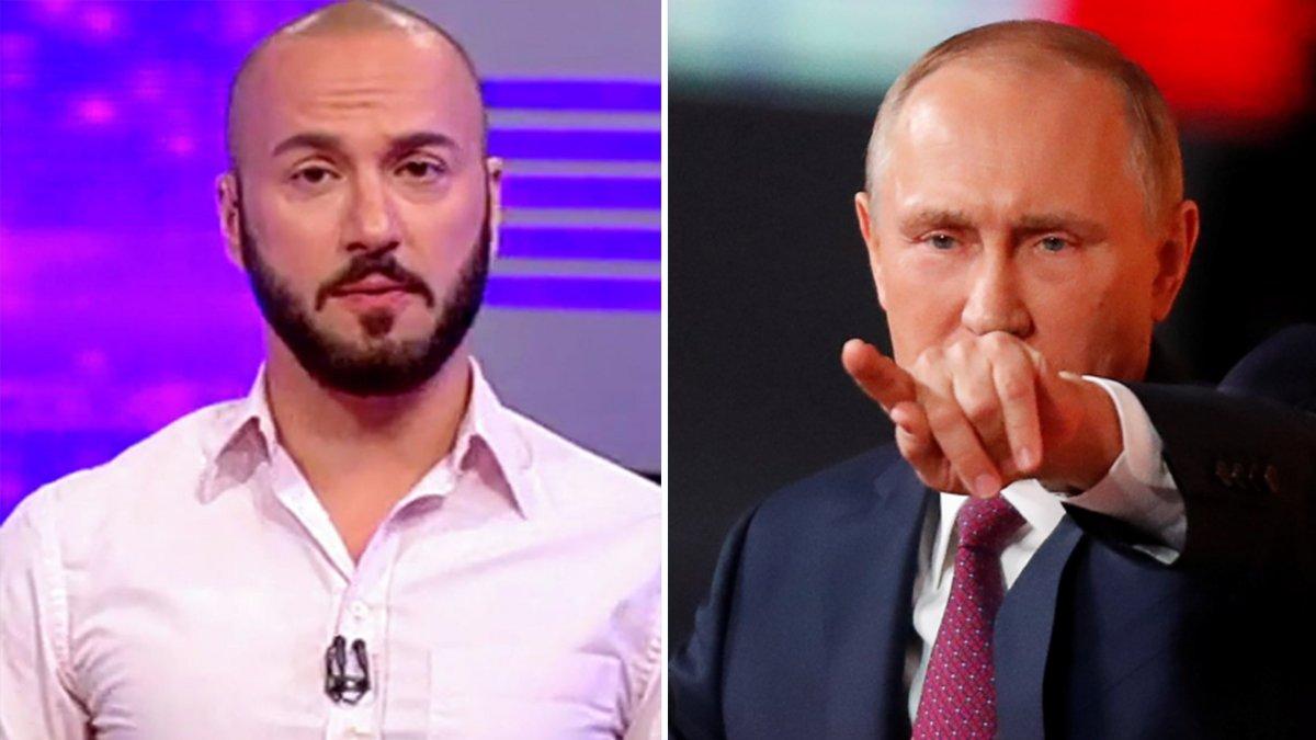 Георгий Габуния и Владимир Путин