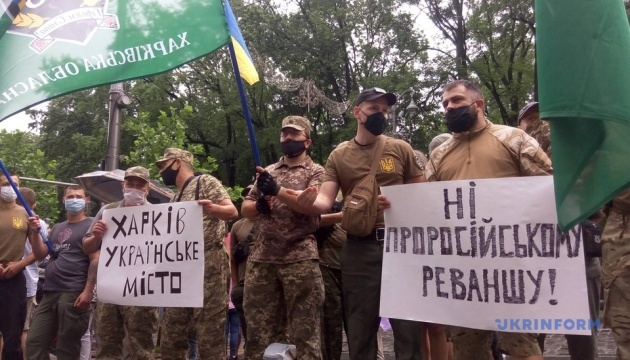 Под Кабмином требуют не назначать Мураеву заместителем главы Харьковской ОГА