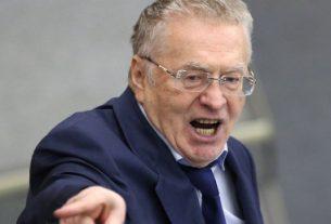 Владимир Жириновский в ярости