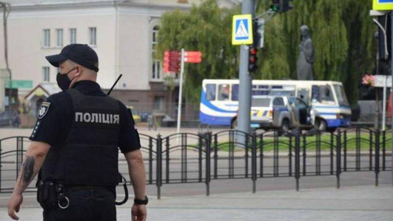 Захват заложников в Луцке