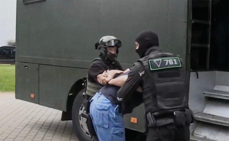 Задержание российских боевиков в Беларуси
