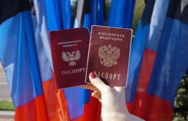 """Паспорта """"ДНР"""" и РФ"""