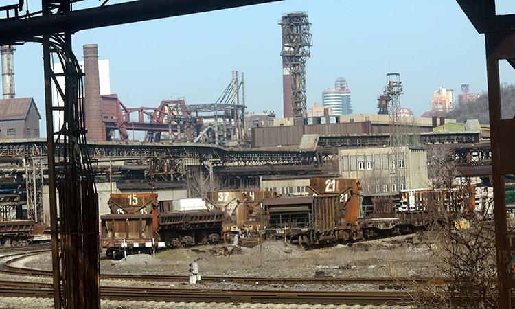 один из заводов на Донбассе