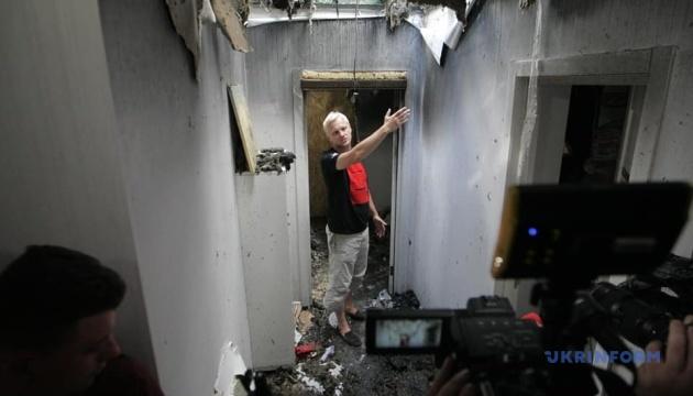 Зеленский о поджоге дома Шабунина: Меня это очень волнует и огорчает