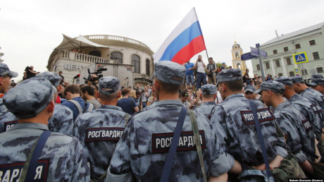 Хабаровск взорвался массовыми протестами.