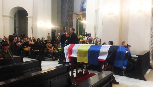 В Киеве прощаются с военным медиком Николаем Ильиным