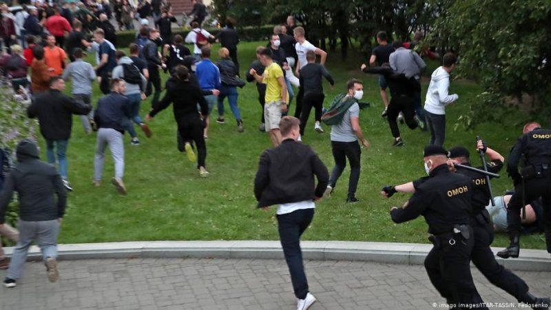 Акция протеста в Беларуси