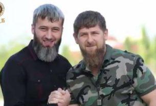 Замид Чалаев с Рамзаном Кадыровым. м