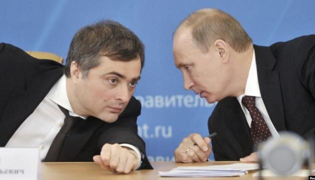Владислав Сурков и Владимир Путин.