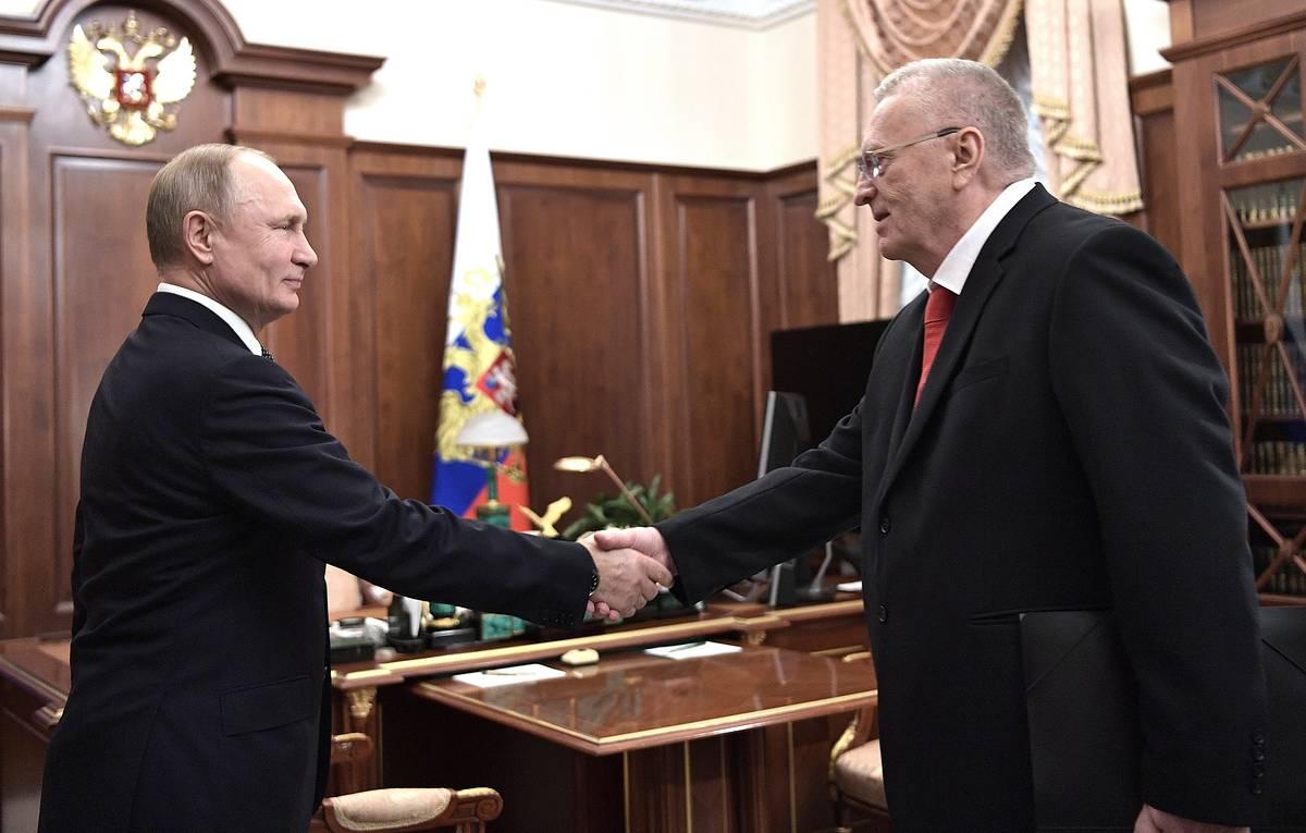 Жириновский и Путин