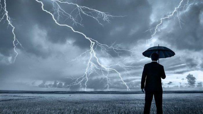 В Украине штормовое предупреждение.