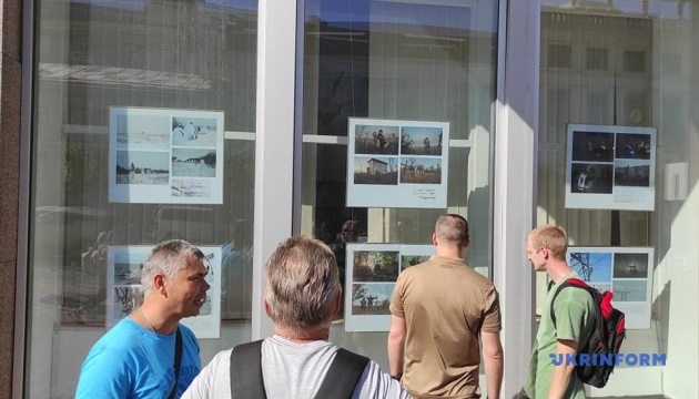 В окнах Укринформа - выставка фотокора Алены Худяковой