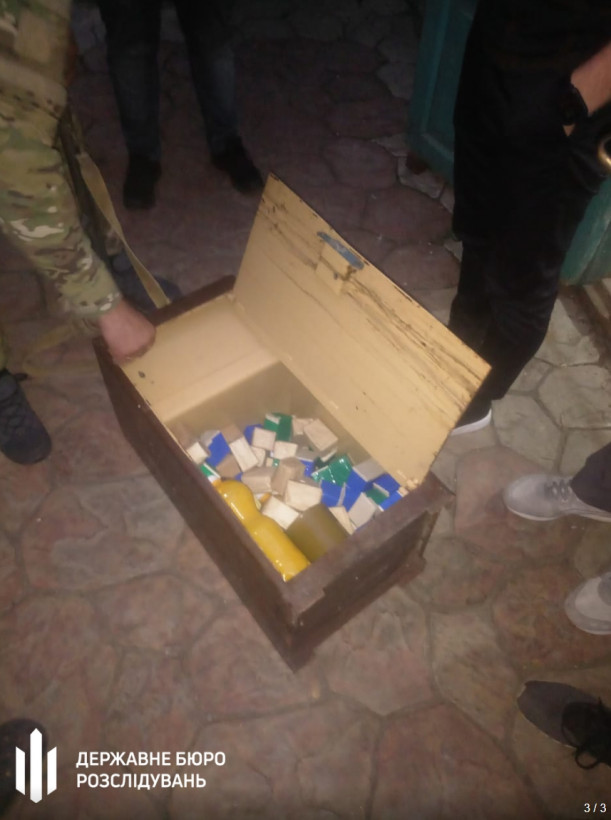 Следователи ГБР задержали сотрудника СБУ во время сбыта боеприпасов