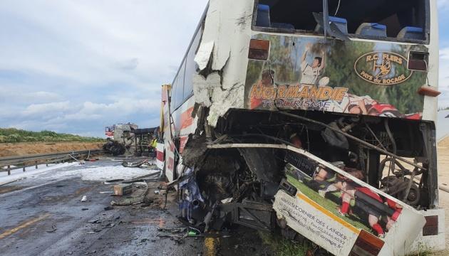 Авария автобуса в Польше: четверо украинцев остаются в больницах