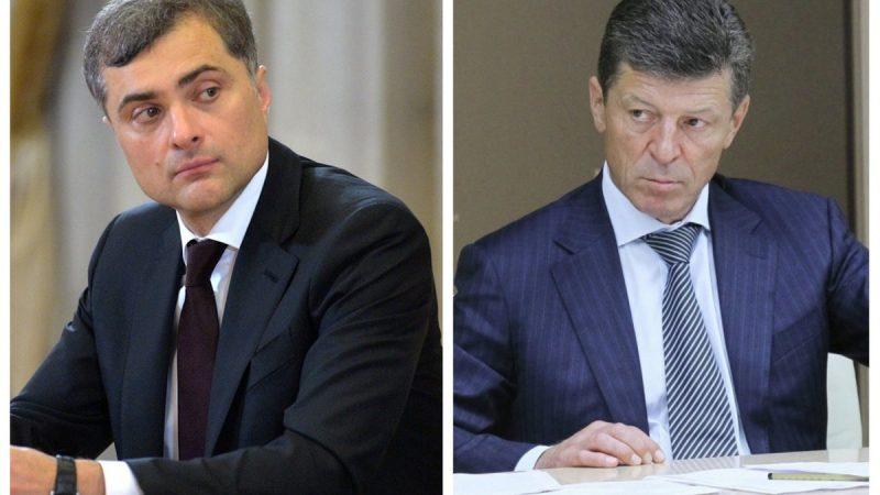 Владислав Сурков и Дмитрий Козак