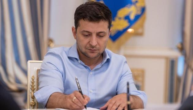 Зеленский отметил государственными наградами шахтеров