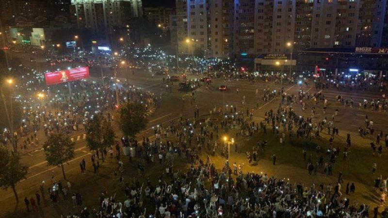 протесты в Республике Беларусь