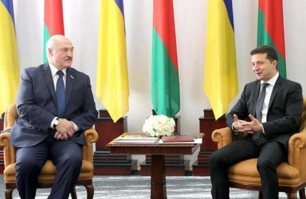 Лукашенко и Зеленский