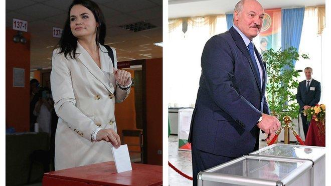 Лукашенко или Тихановская.